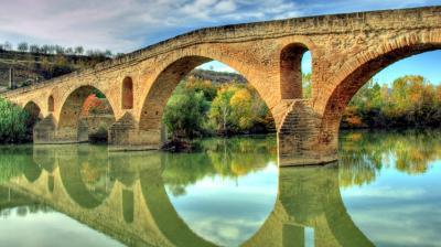 Puente puente la reina navarra